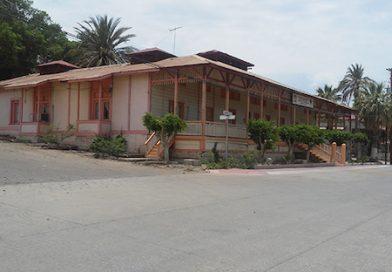 """Antigua """"Casa de visitas"""" en Santa Rosalía, hoy oficina de la SEP"""
