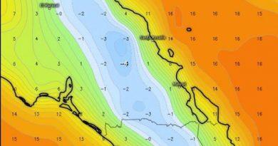 Este fin de semana el frío azotará a BCS; advierten mínimas de -4°C y vientos de 60 km/h