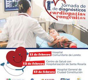 SALUD INICIARÁ EN LORETO LAS PRIMERAS JORNADAS PARA DIAGNOSTICAR CARDIOPATÍAS EN NIÑOS