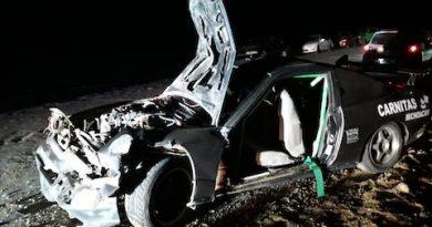 Le gustaba la velocidad y en aparatoso accidente por poco pierde la vida.