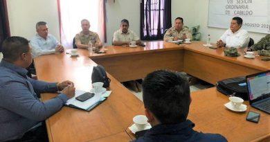Sesiona mesa de seguridad en el municipio de Mulegé, van por los delitos de alto impacto