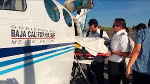 Trasladaron a un bebé nacido en Santa Rosalía al hospital salvatierra en calidad de urgencia.