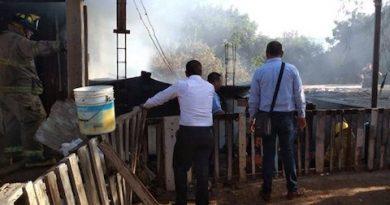 Muere adolescente de 16 años, tras incendiarse una casa en Santa Rosalía