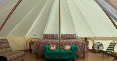 """En La Paz ya se puede hacer """"glamping"""", forma lujosa de acampar frente al golfo de California"""