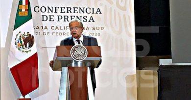 No se descarta bajar el IVA en Baja California Sur; vamos por etapas: López Obrador