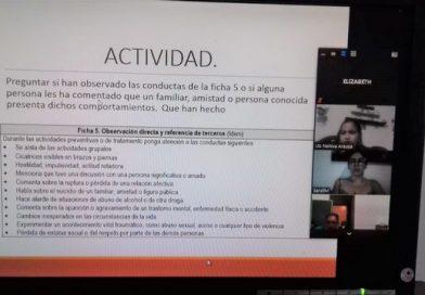 PERSONAL DEL CENTRO DE INTERNAMIENTO PARA ADOLESCENTES SE CAPACITA EN TEMAS DE PREVENCIÓN DEL SUICIDIO