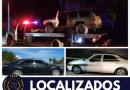 LOCALIZAN AGENTES DE INVESTIGACIÓN VEHÍCULOS CON REPORTE DE ROBO EN LA PAZ